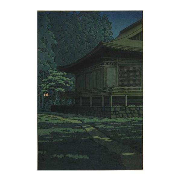 Pleine lune au sanctuaire Sanzenin de Kyoto