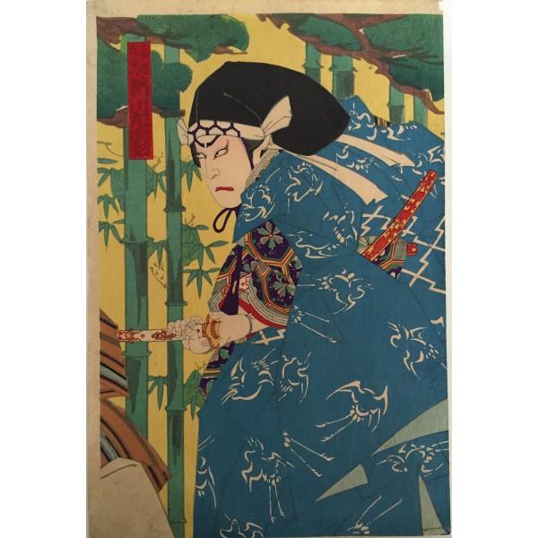 l'aristocrate Togashi Zaemon