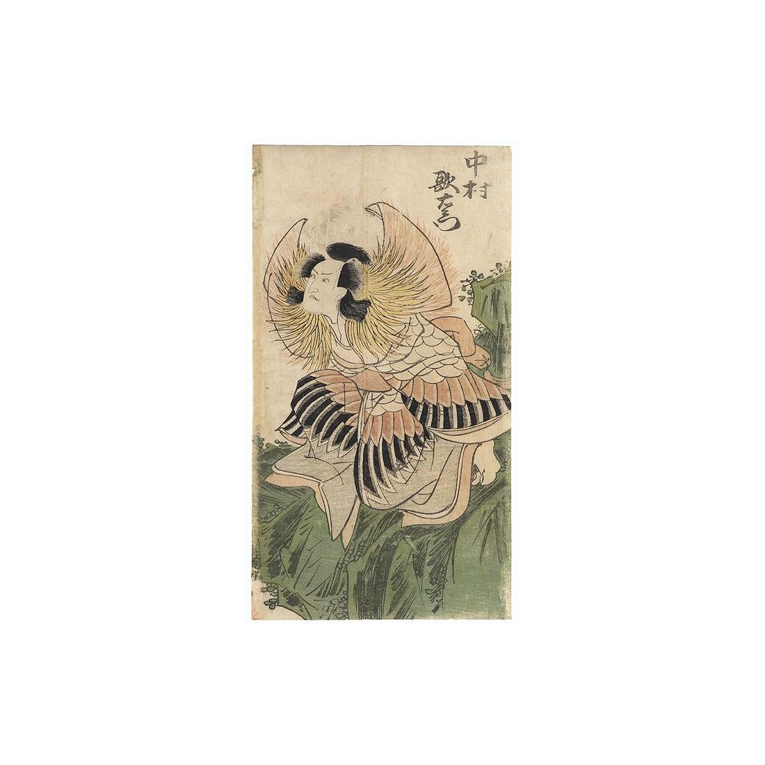 estampe japonaise de Toyokuni I Nakamura Utaemon III