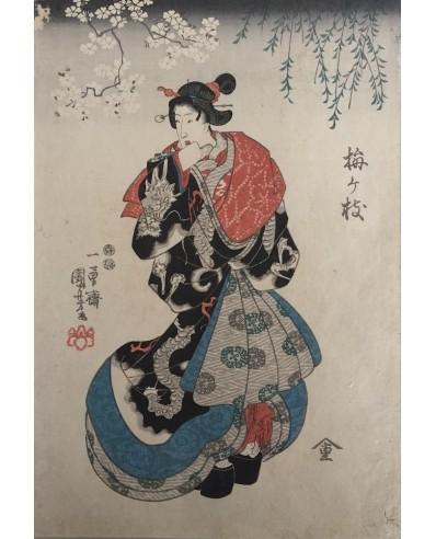 La courtisane Umegae