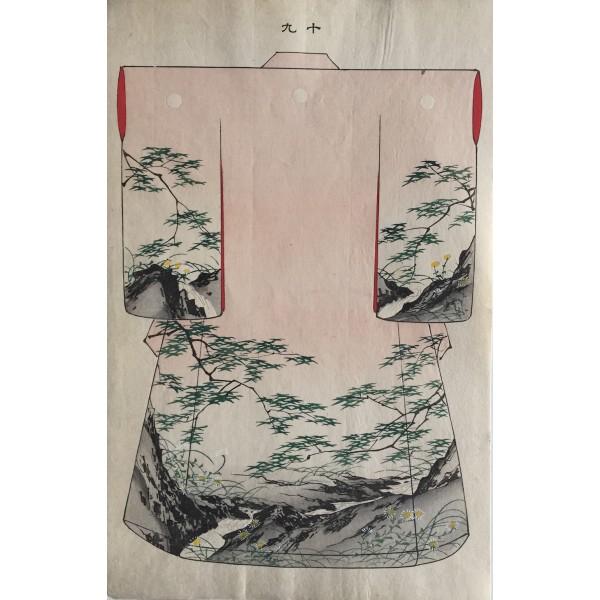 kimono aux cascades