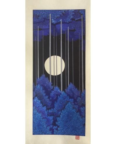 Kato Teruhide lune bleue