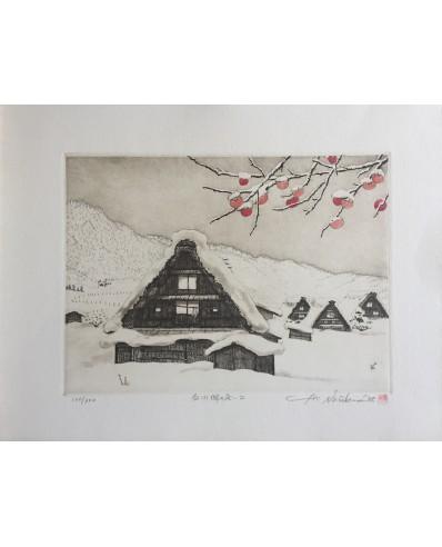 Norikane Hiroto - Shirakawa sous la neige